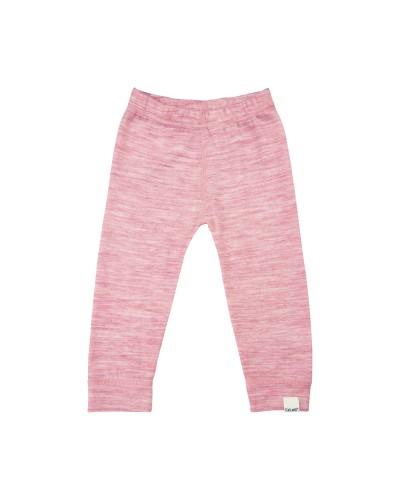 Pantaloni roz CeLaVi din lână Merino cu interior din bambus pentru bebeluși