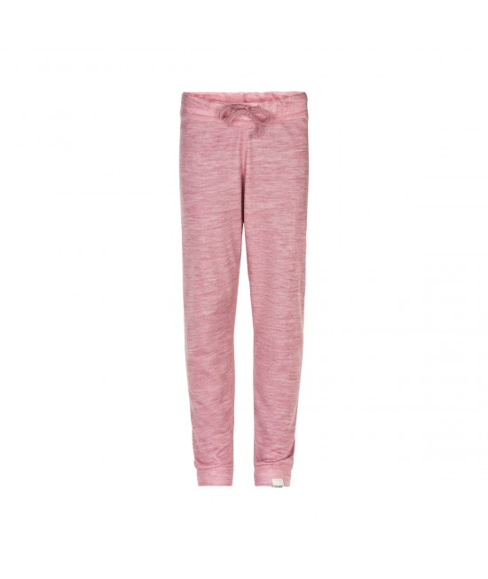 Pantaloni roz CeLaVi din lână Merino cu interior din bambus pentru copii