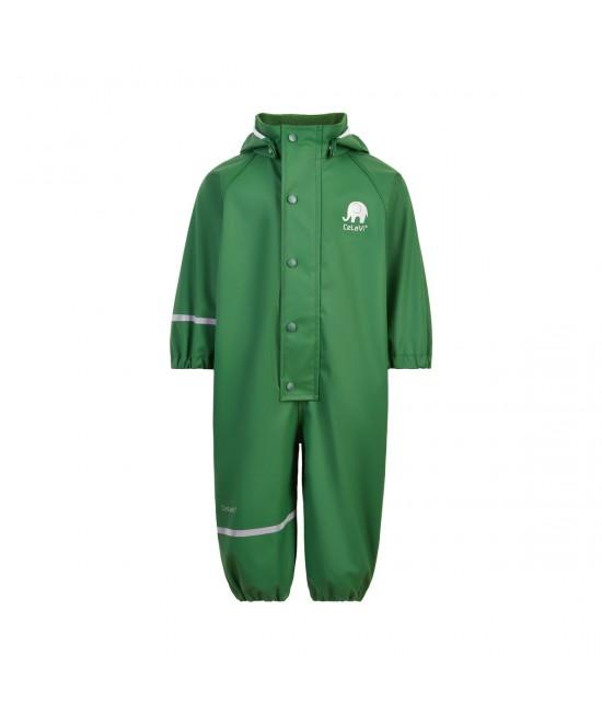 Salopetă overall impermeabilă CeLaVi pentru ploaie și vânt - Elm Green Uni