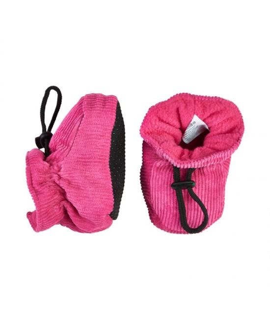Botoșei CeLaVi călduroşi, cu elastic reglabil la gleznă - roz