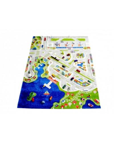 Covor de joacă pentru copii 3D - IVI Mini City 150 x 220