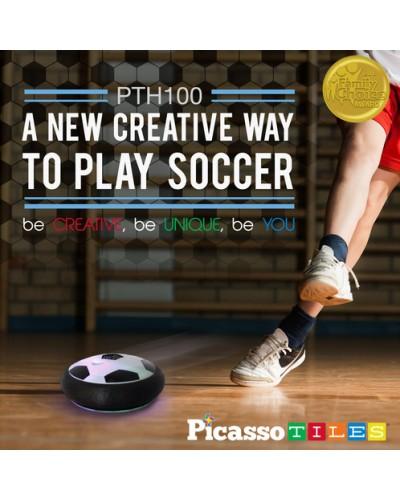 Minge plutitoare de fotbal și hochei aerian electrică PicassoTiles Hoverball