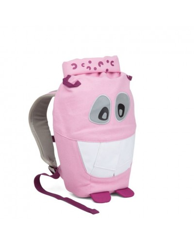 Ghiozdan eco Affenzahn Monster Friends Pink Mighty Monster