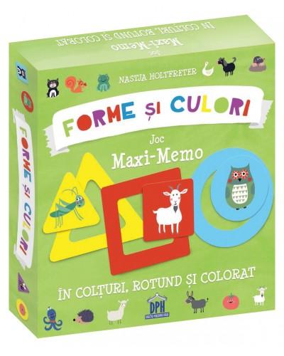 Forme și culori - Joc MAXI-MEMO - Nastja Holtfreter