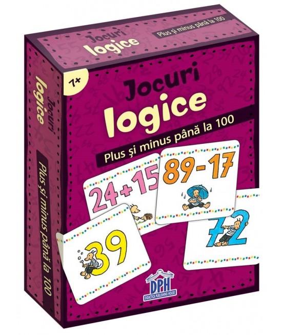Jocuri logice - Plus și Minus până la 100 - Corina Beurenmeister
