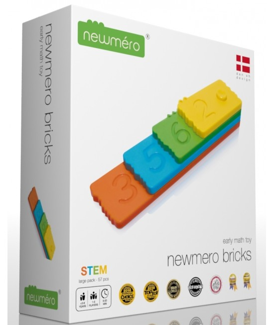 Joc STEM matematic educativ Newmero Large Pack