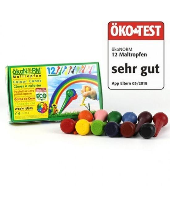 "12 creioane cerate eco ökoNORM conuri ÖKO-TEST ""sehr gut"""