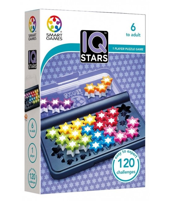 IQ Stars - Joc Puzzle Logic SmartGames