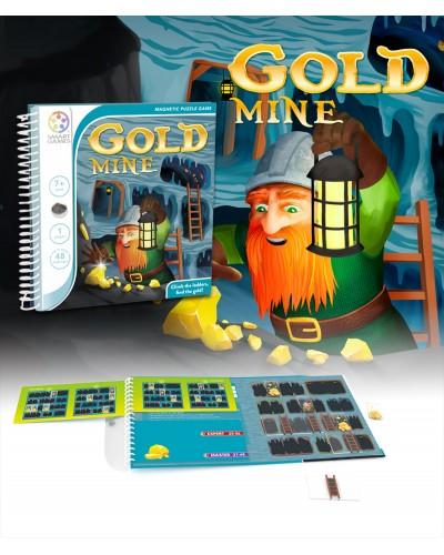 Gold Mine - Joc Puzzle Magnetic SmartGames