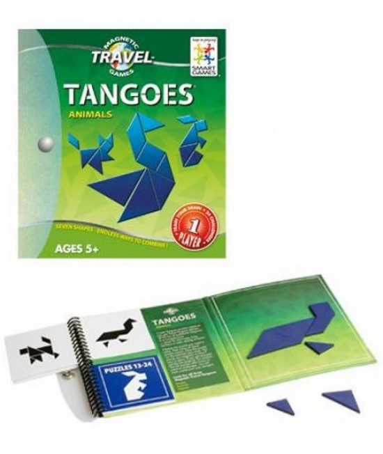 Tangoes Animals - Joc Tangram Magnetic SmartGames (Animale)