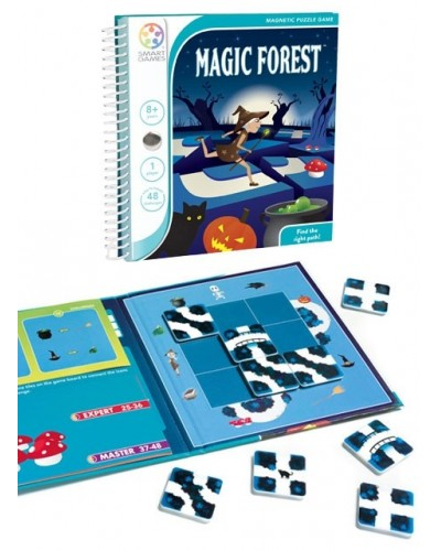 Magic Forest - Joc Puzzle Magnetic SmartGames (Pădurea magică)