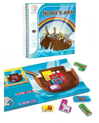 Noah's Ark - Joc Puzzle Magnetic SmartGames (Arca lui Noe)