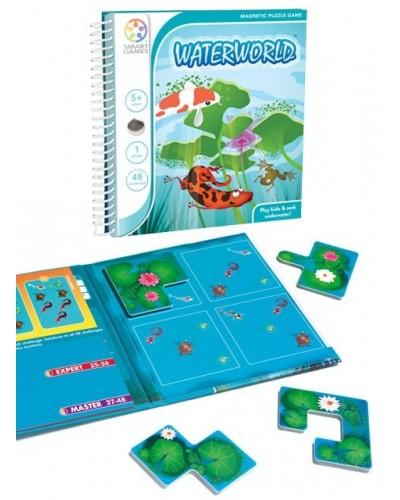 Waterworld - Joc Puzzle Magnetic SmartGames (Lumea Apelor)