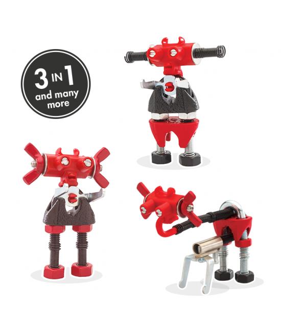 ArtBit - 3 în 1 Character Kit The OFFBITS - set de construit cu șuruburi și piulițe