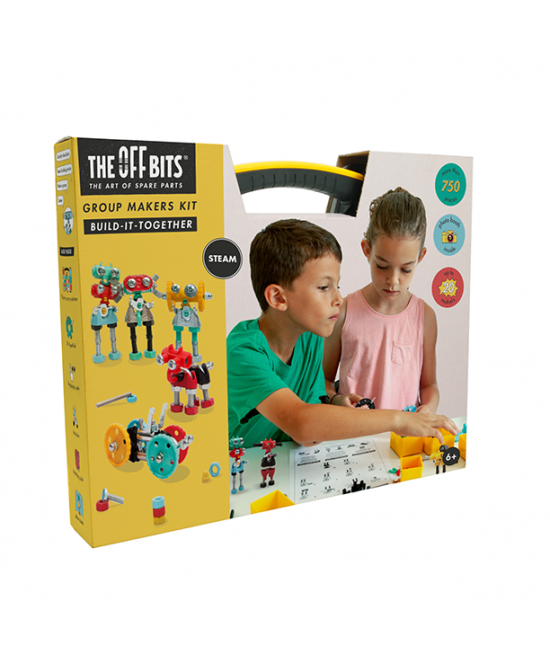 Group Makers Kit - MultiKit The OFFBITS - set de construit cu șuruburi și piulițe ÎN GRUP