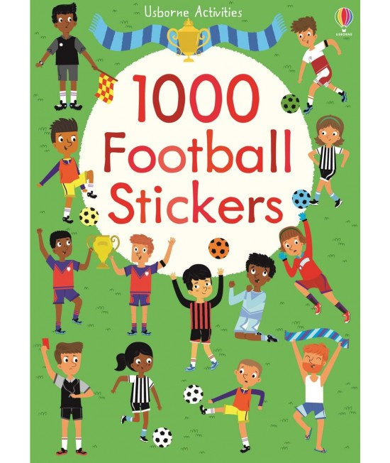 1000 Football Stickers - Usborne Activities