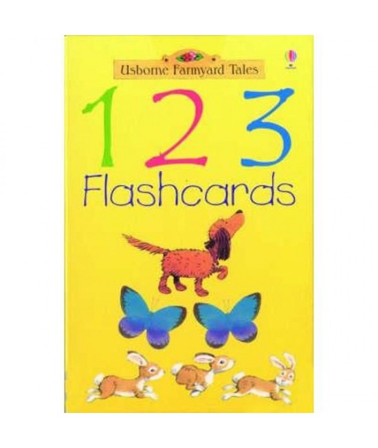 1-2-3 Flash cards - Usborne Farmyard Tales