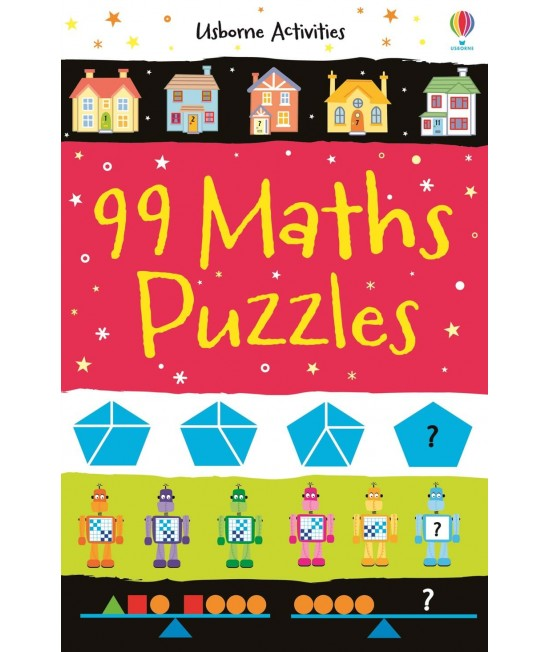99 Maths Puzzles - Usborne Activities - Puzzle and game books