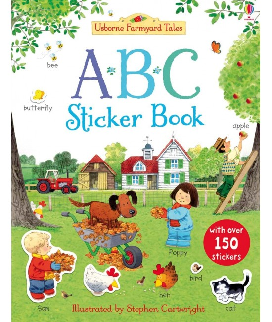 ABC Sticker Book - Usborne Farmyard Tales - First Sticker Books - Jessica Greenwell, Stephen Cartwright