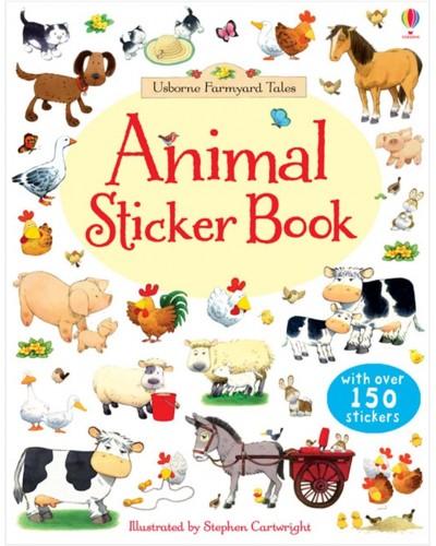 Animal Sticker Book - Usborne Farmyard Tales - First Sticker Books - Jessica Greenwell, Stephen Cartwright