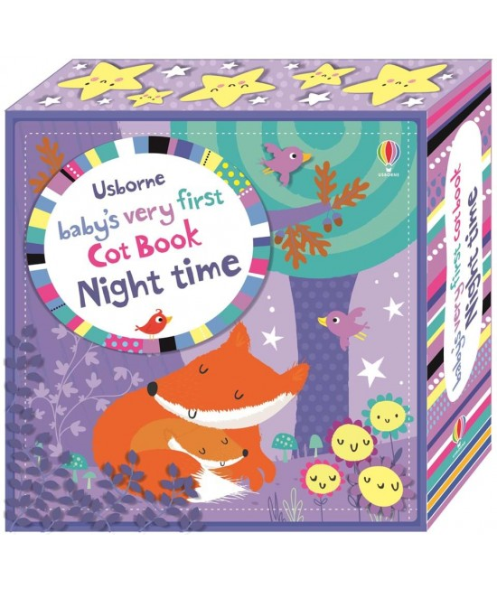 Baby's very first Cot book: Night time - Baby's very first cloth books and cot books - Stella Baggot