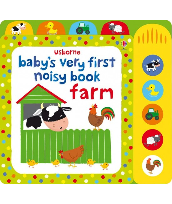 Baby's very first Noisy book: Farm - Baby's very first sound books - Fiona Watt & Stella Baggott