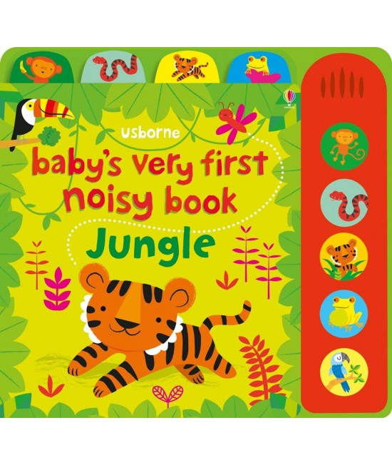 Baby's very first Noisy book: Jungle -  Baby's very first sound books - Stella Baggott