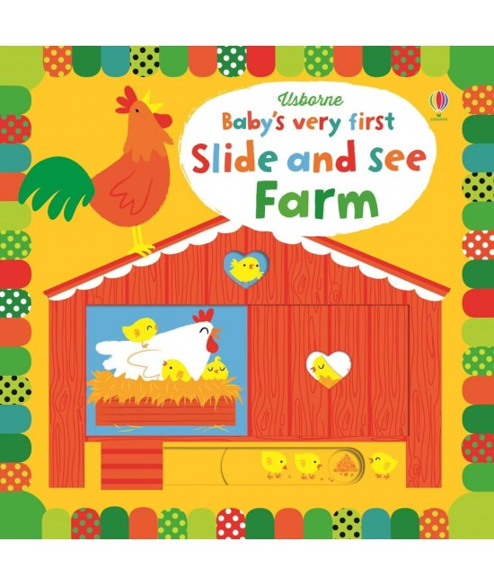 Baby's very first Slide and see Farm -  Baby's very first slide and see books - Stella Baggott