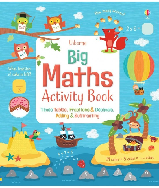 Big maths activity book - Usborne Maths activity books