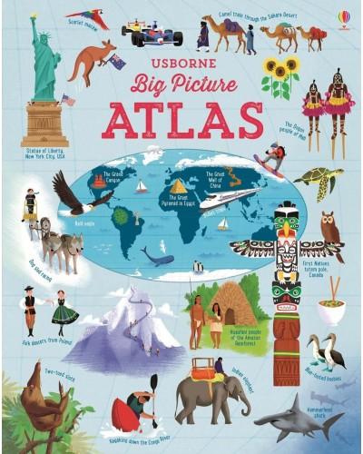 Big Picture Atlas - Usborne Picture Atlases