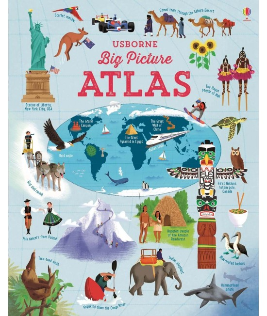 Big Picture Atlas - Usborne Picture Atlases