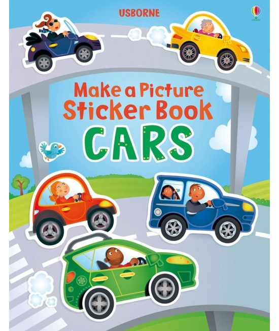 Cars - Make a Picture Sticker Book - Katie Lovell