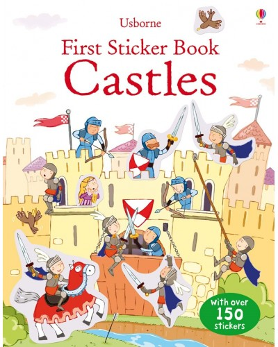 Castles - Usborne First Sticker Book
