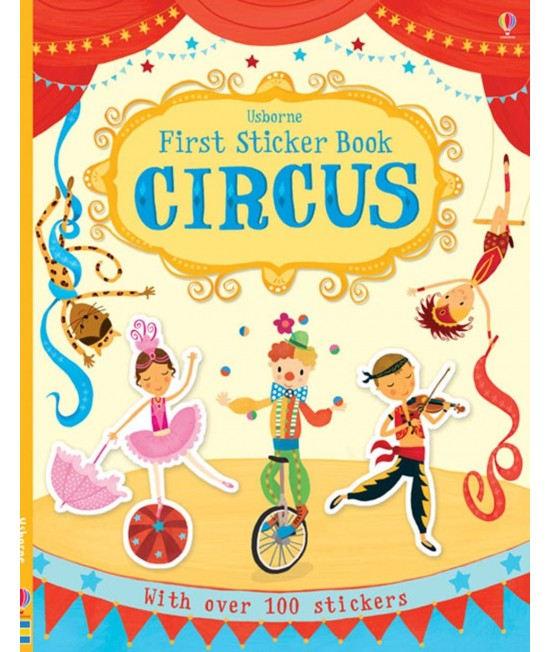 Circus - Usborne First Sticker Book - Jessica Greenwell, Vicki Gausden