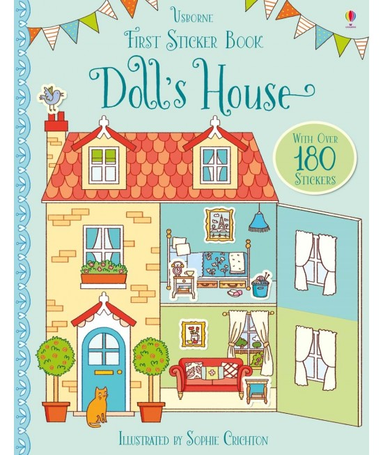 Doll's house - Usborne First Sticker Book