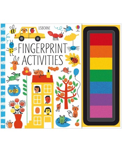 Fingerprint activities - Fingerprinting and rubber stamps - Erica Harrison