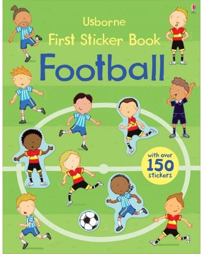 Football - Usborne First Sticker Book - Sam Taplin