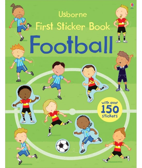 Football - Usborne First Sticker Book - Sam Taplin