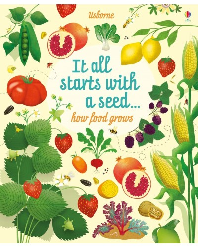 It all starts with a seed… how food grows - Usborne Big Picture Books