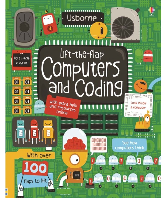 Lift-the-flap Computers and coding - Coding books for kids