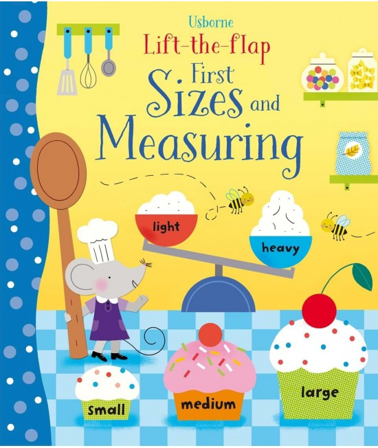 Lift-the-flap First sizes and measuring - Melisande Luthringer