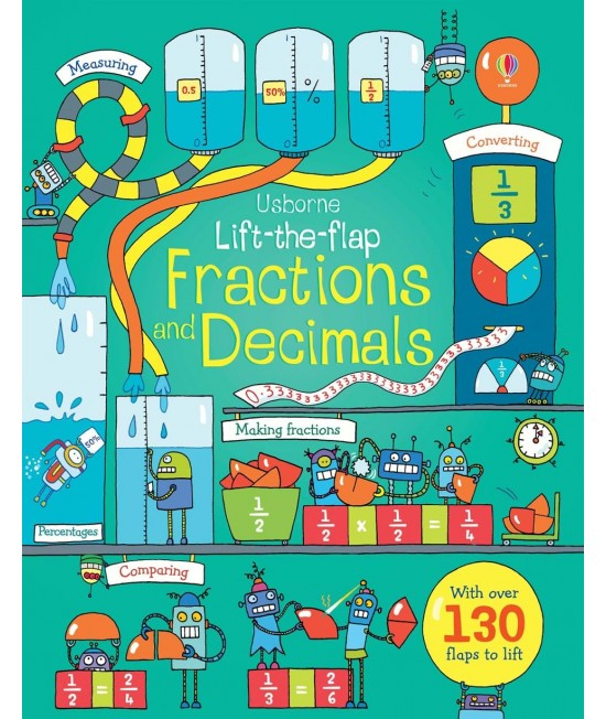 Lift-the-flap Fractions and decimals - Benedetta Giaufret & Enrica Rusina