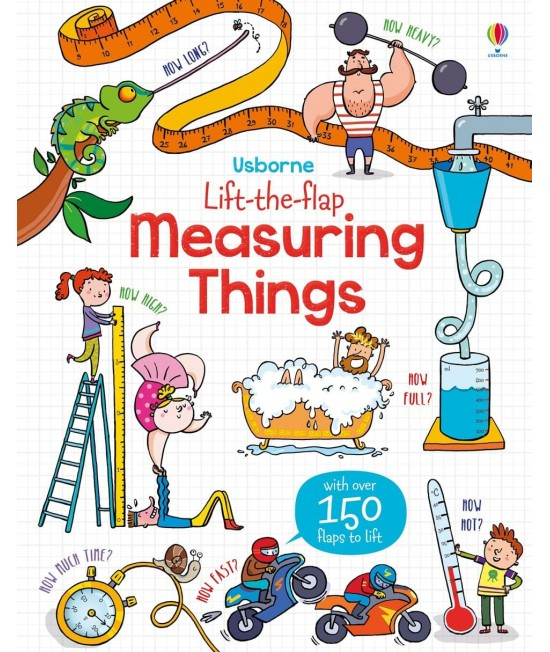 Lift-the-flap Measuring things - Benedetta Giaufret & Enrica Rusina