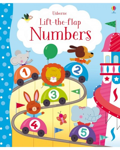 Lift-the-flap Numbers - Melisande Luthringer