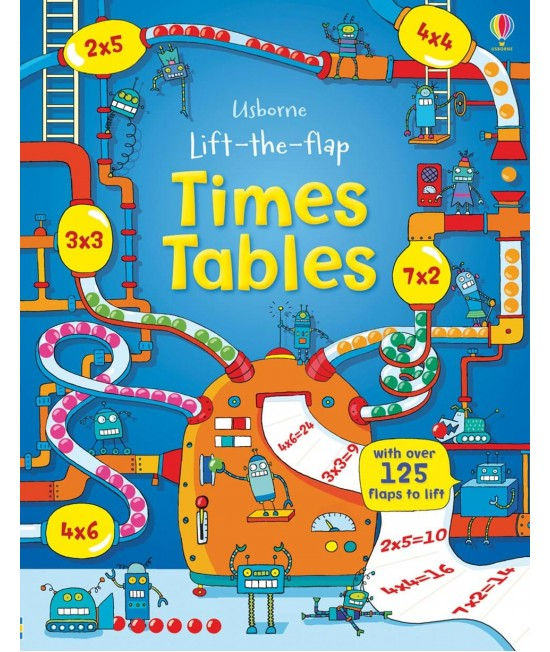 Lift-the-flap Times tables - Benedetta Giaufret & Enrica Rusina