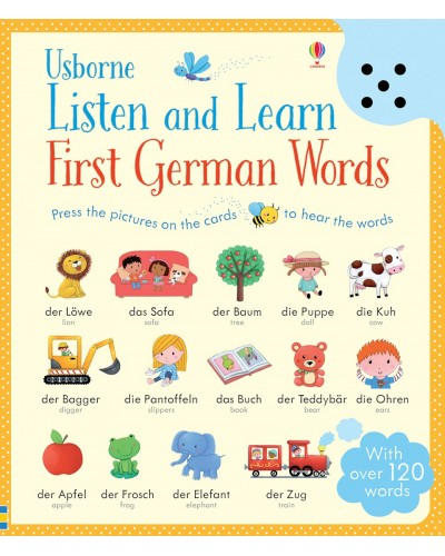 Listen and Learn First German Words - Usborne Listen and Learn