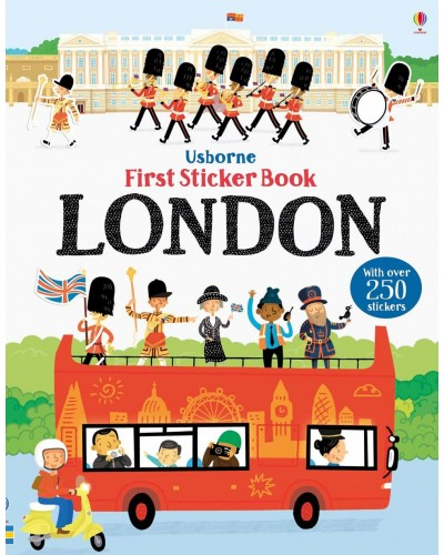 London - Usborne First Sticker Book