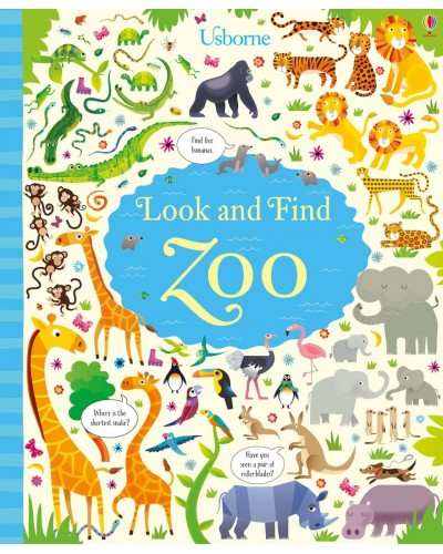Look and find Zoo - Usborne Look and Find books illustrated by Gareth Lucas