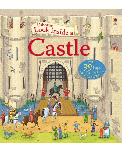 Look inside a Castle - Usborne look inside