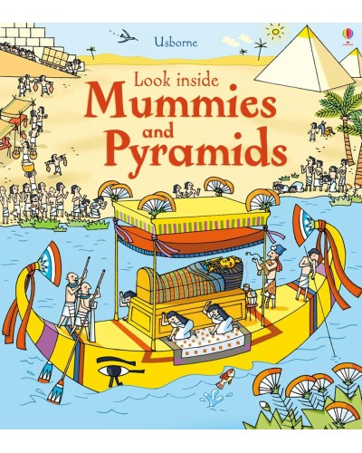 Look inside Mummies and Pyramids - Usborne look inside